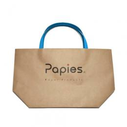 Papies Tote ターコイズブルー